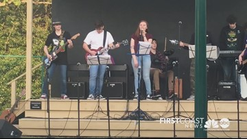 Greenwood School band, chorus rock out spring concert