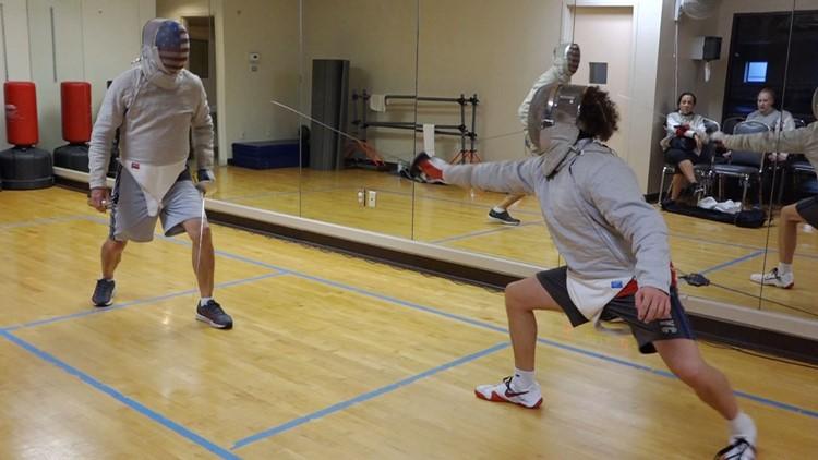 En Garde! Fencing growing in popularity with adults in Jacksonville