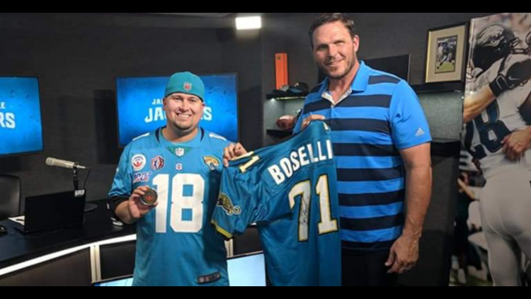 Jaguars Hall of Fame fan needs help in charity challenge
