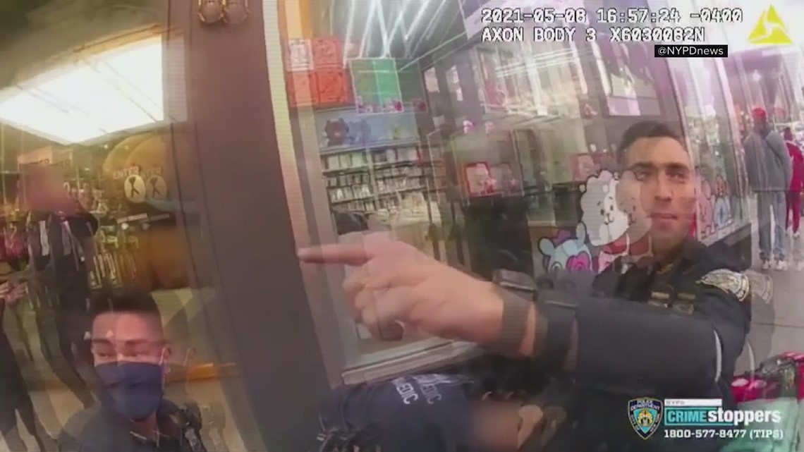 Bodycam Video: NYPD captures dramatic moments after Times Square shooting where toddler is shot, suspect arrested in Jacksonville