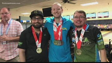 Jacksonville man brings home gold medal after competing overseas in the Transplant Games