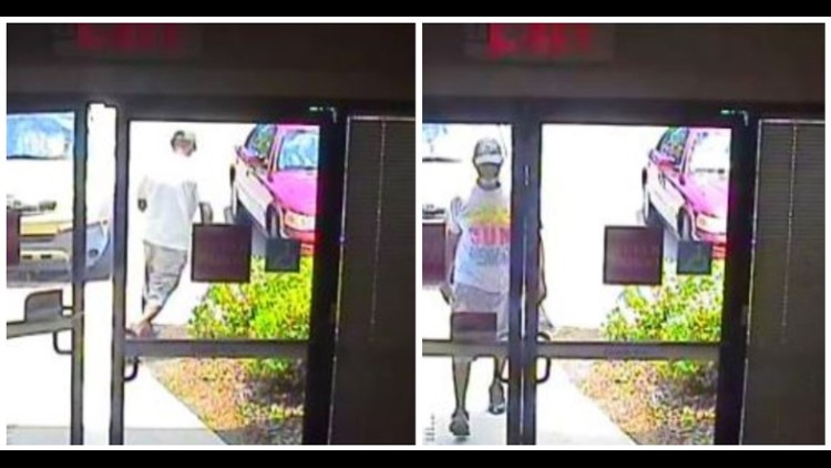 Orange Park bank robbery suspect