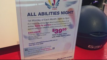 All Abilities Night sends spirits soaring at iFLY Jacksonville