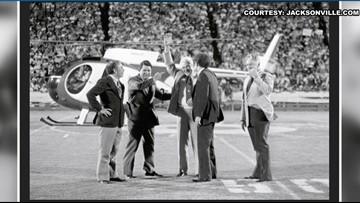 Former Jacksonville mayor credited for bringing NFL, Jaguars to city
