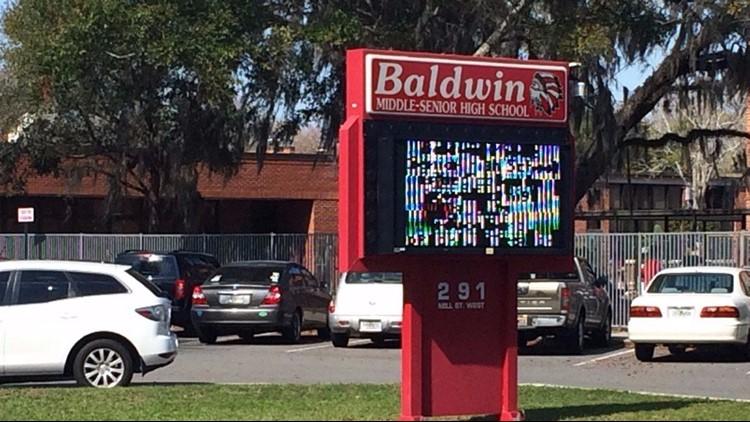 Overnight vandalism at Baldwin Middle-Senior High possibly part of senior prank
