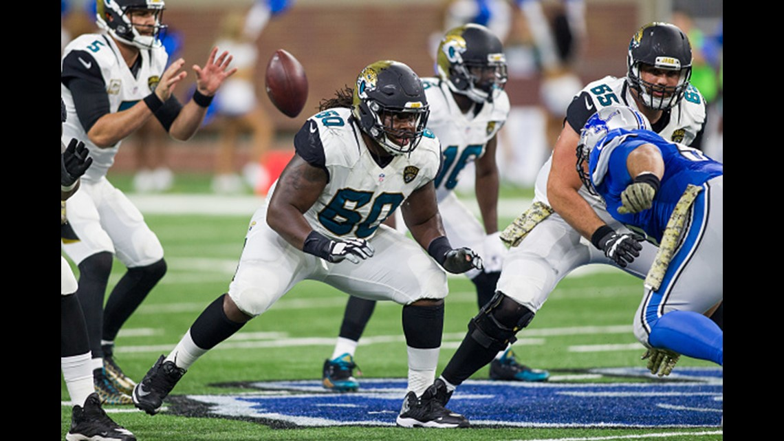 Offensive linemen on the Jaguars' roster | firstcoastnews com