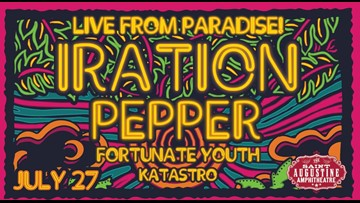 Live from Paradise! Tour coming to St. Augustine on Saturday