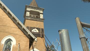 Bids coming in to repair crumbling St. Augustine church