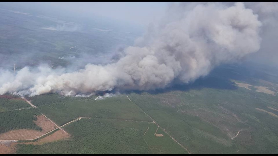 West Mims Fire About 60 Percent Contained After Burning More Than