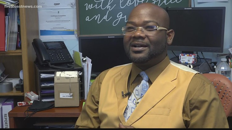 12 Who Care: Marcus Harden-Givens provides resources to Moncrief residents