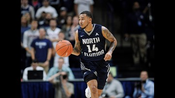 Former UNF basketball stand-outs return home from Europe, reflect on journey
