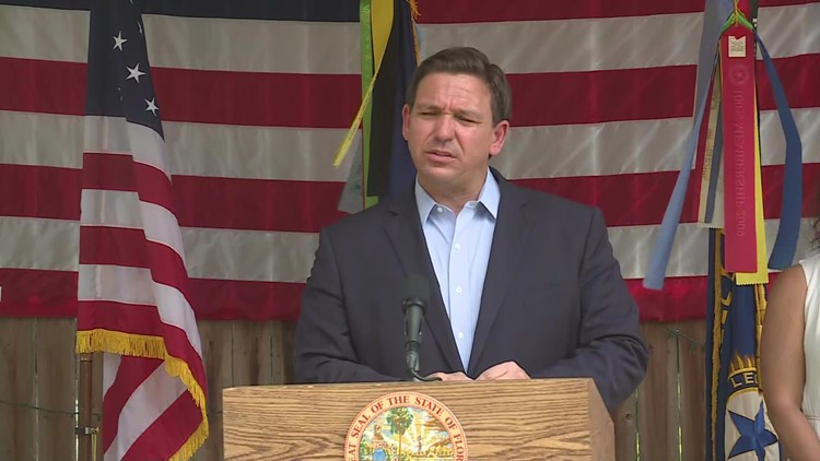 'That violates Florida law' | Gov. DeSantis lashes out at cities requiring employees to get vaccinated