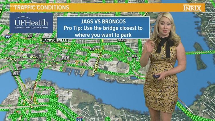 Parking, traffic guide for Jacksonville Jaguar games