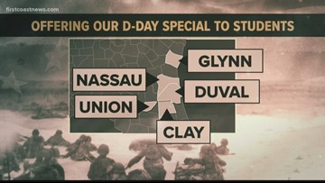 First Coast school districts working to educate students on D-DAY