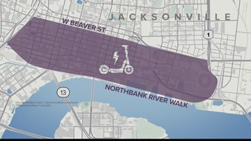 Electric scooters, electric bikes could be coming to the Jacksonville area
