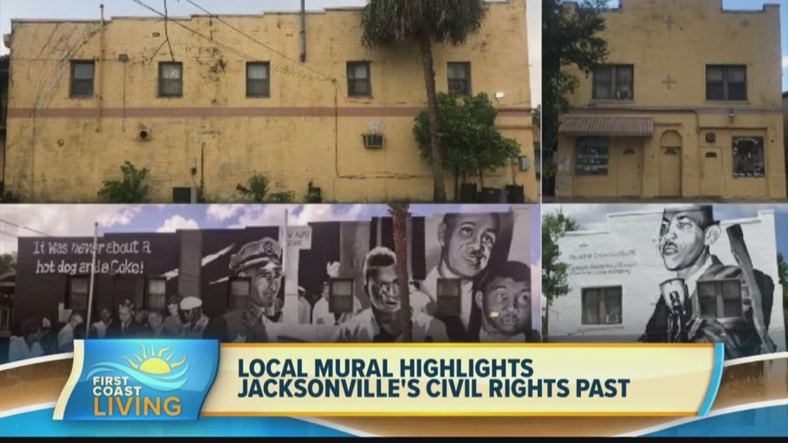 Local mural highlights Jacksonville's civil rights past