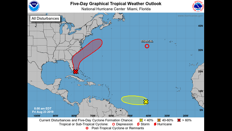 August 23, 2019 Tropical Outlook