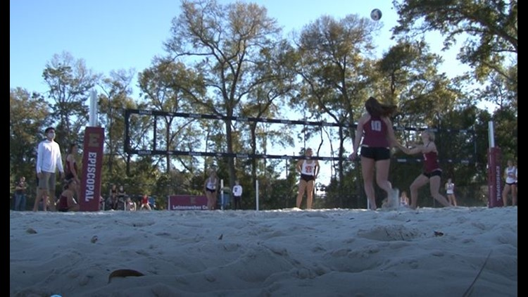Episcopal debuts beach volleyball, new athletic facility