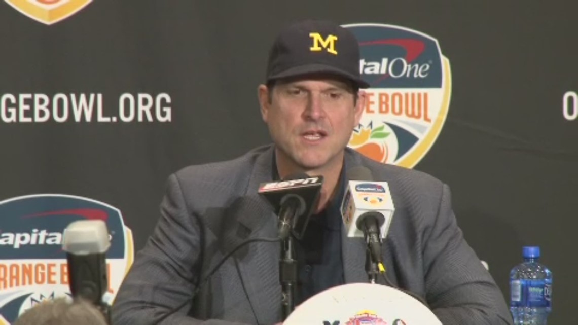 Jim Harbaugh Gets Weird