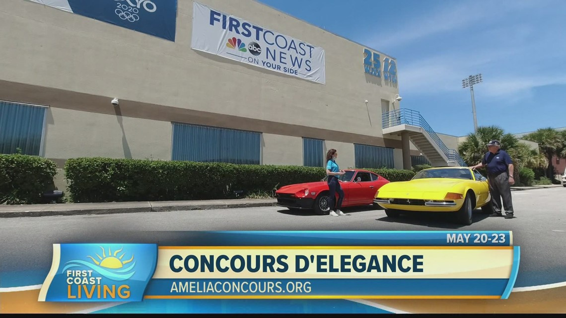 See the most luxury cars at the Amelia Concours d'Elegance