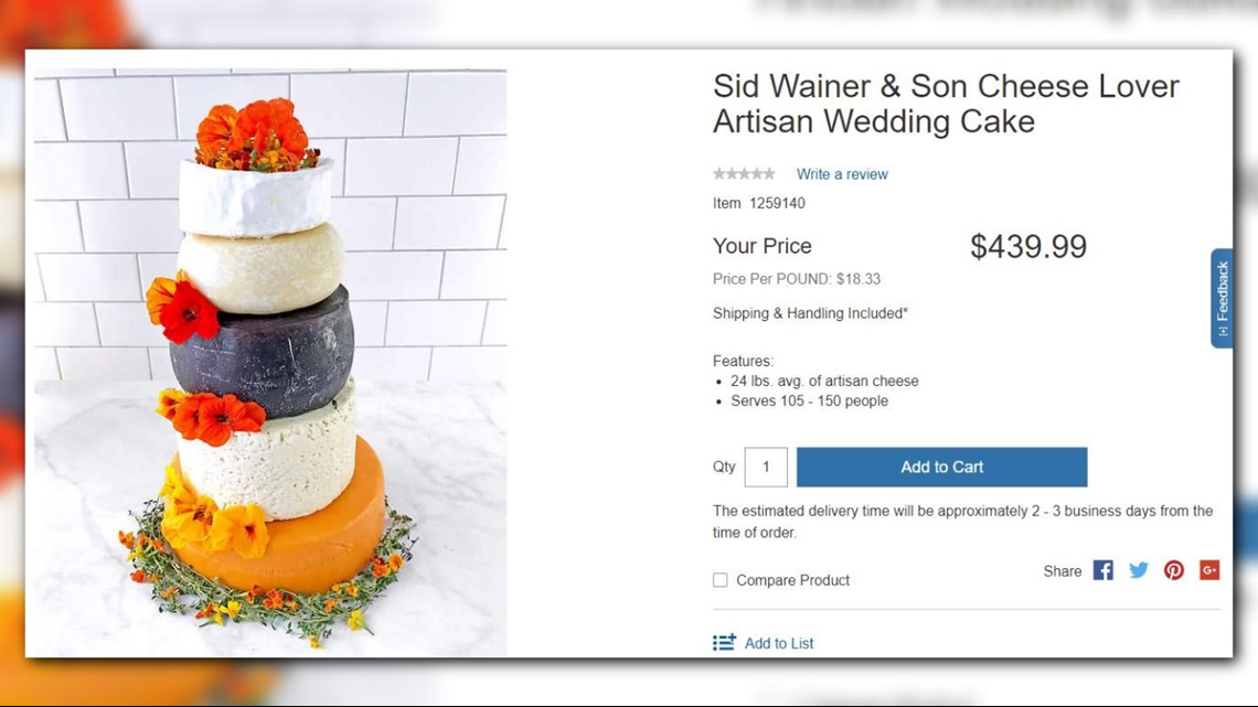 where can i buy a wedding cake now you can buy a 5 tier wedding cake made entirely of 27133