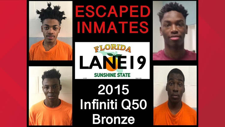 4 escaped juvenile inmates 'could be anywhere'