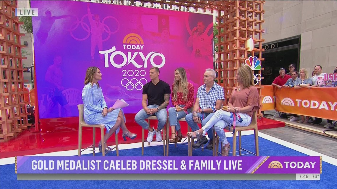 Caeleb Dressel on Today Show: To the victor go the spoils