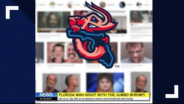 Jumbo Shrimp to hold 'Florida Man Night', try to break weird Florida laws