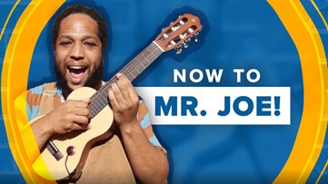 Sick of washing your hands? Sing with Mr. Joe!