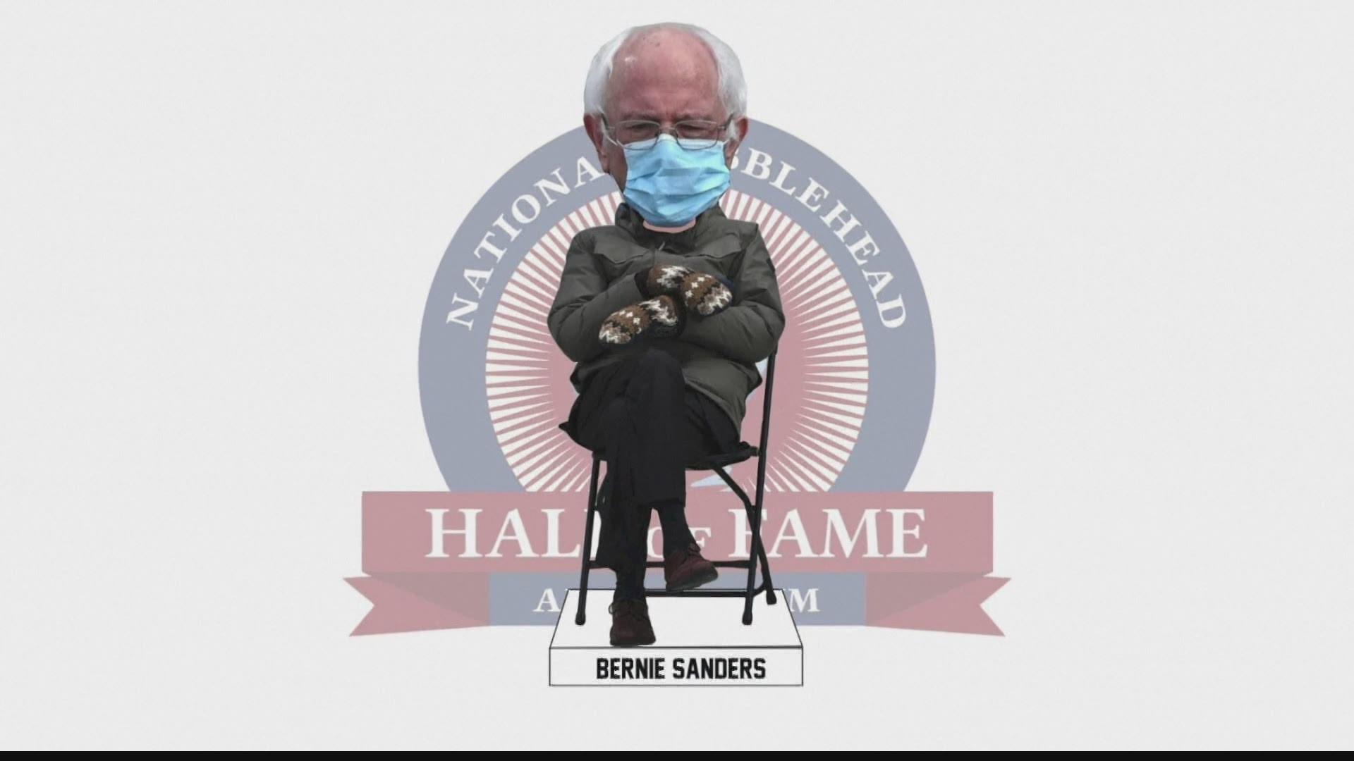Buzz Viral Bernie Sanders Meme Inspires Collectible Bobblehead Firstcoastnews Com