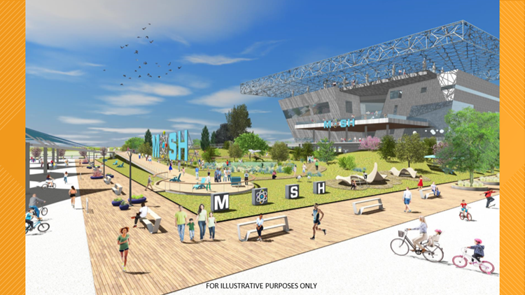 Museum of Science & History reveals new rendering of vision for new Northbank location