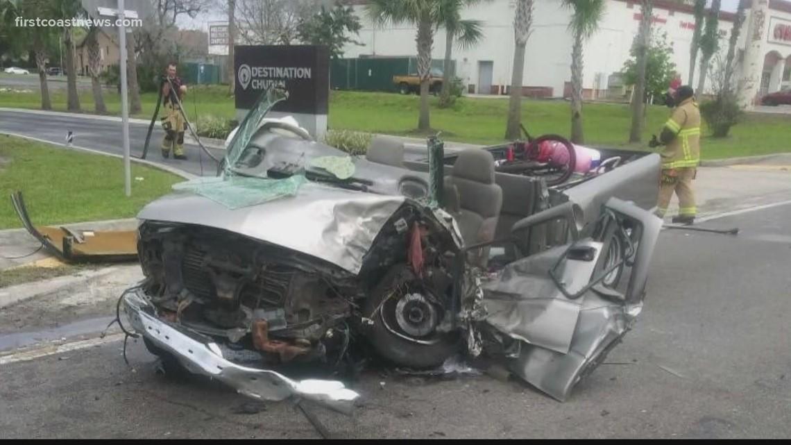 Multiple people injured in crash on Atlantic Blvd., Arlington Rd.