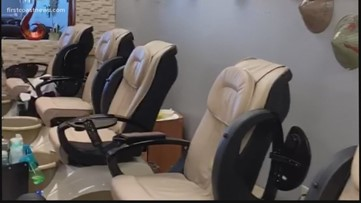 'I just sit in the back of my empty shop:' Nail salon owner talks about heartbreaking situation