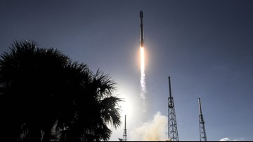 SpaceX launches 60 satellites on Falcon 9 rocket Monday morning 🚀
