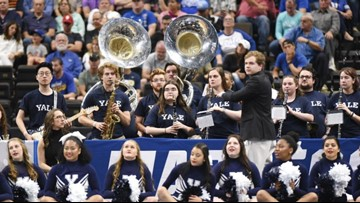 Yale of the South: UNF band fills in for Yale's NCAA opener