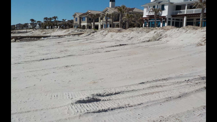 The State of Florida has reached an agreement Friday with four Ponte Vedra landowners for beach scraping.