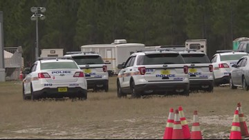 VIDEO: Multiple agencies search landfill in NW Jacksonville