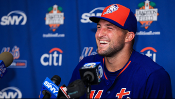 Tim Tebow to be inducted in University of Florida's Ring of Honor