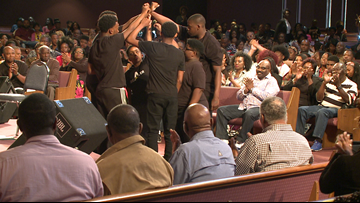 Northside church holds service addressing youth, violence in Jacksonville