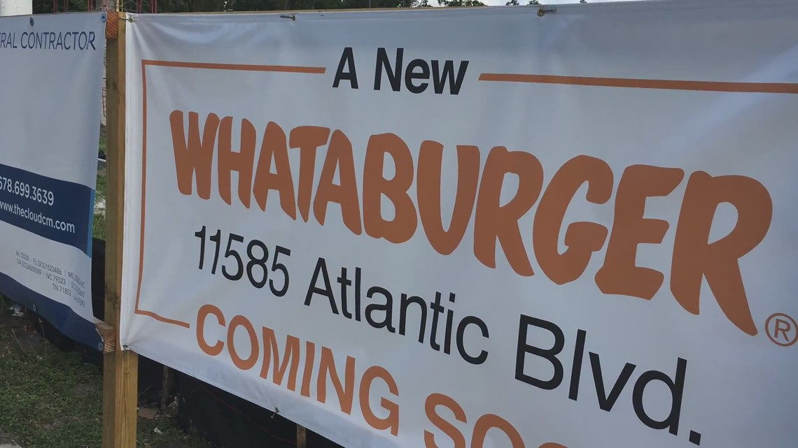 New Whatabuger opening on Atlantic Blvd.