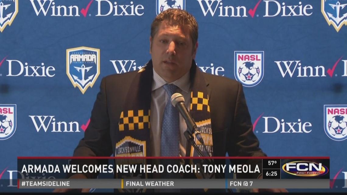 Tony Meola named Armada's new head coach