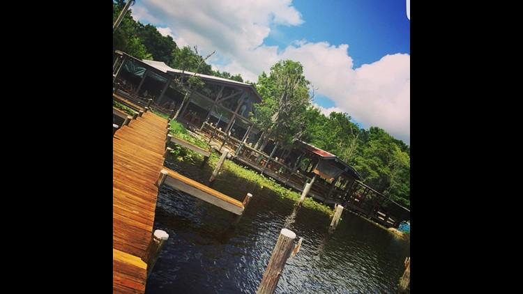 Popular restaurant clark s fish camp for Clark s fish camp seafood restaurant