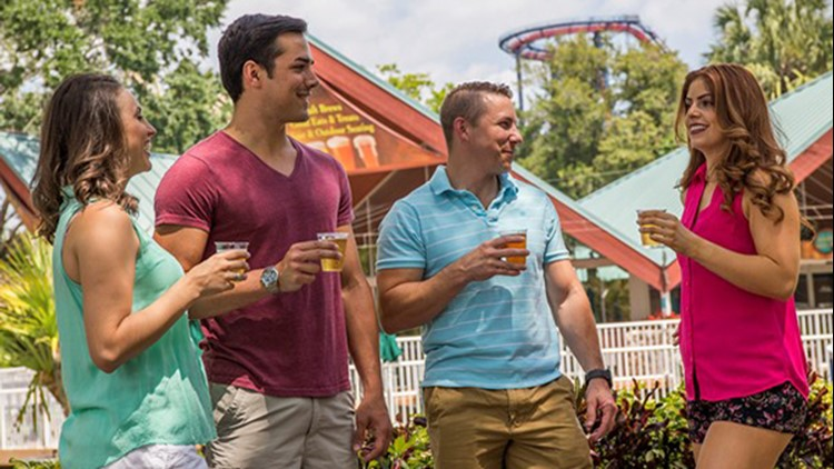 Busch Gardens Tampa: Belly up again for free beers