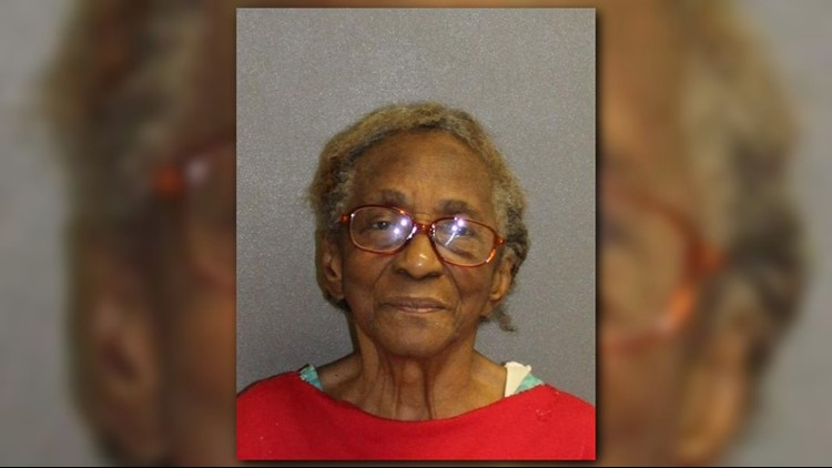 A 95-year-old Daytona Beach woman landed in jail after calling police for help during an argument with her defiant granddaughter.