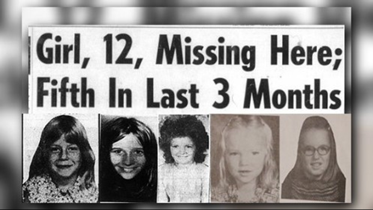 Unsolved: Three months, five missing girls and the tumultuous summer of 1974
