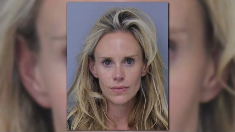 Lucas Glover's wife arrested, charged with domestic violence after attacking her husband