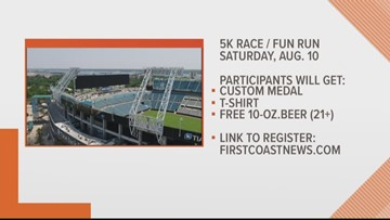Run with the 'Jaguars' at the 5K Stadium Challenge 