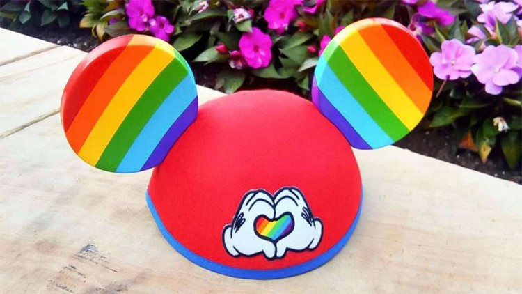 Rainbow Mouse Ears