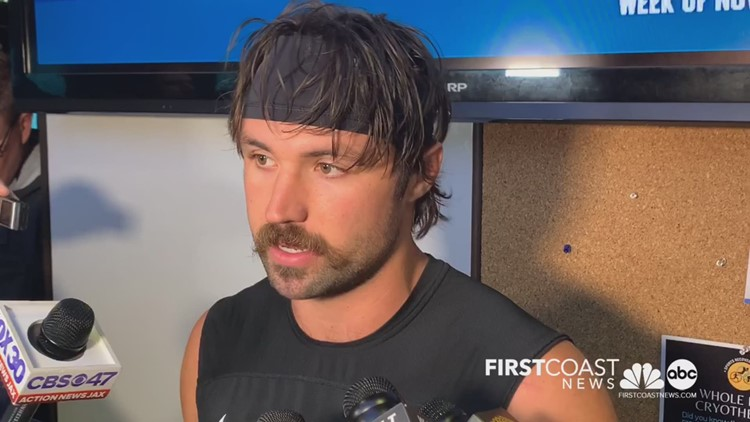 Gardner Minshew tells media about his bye week plans