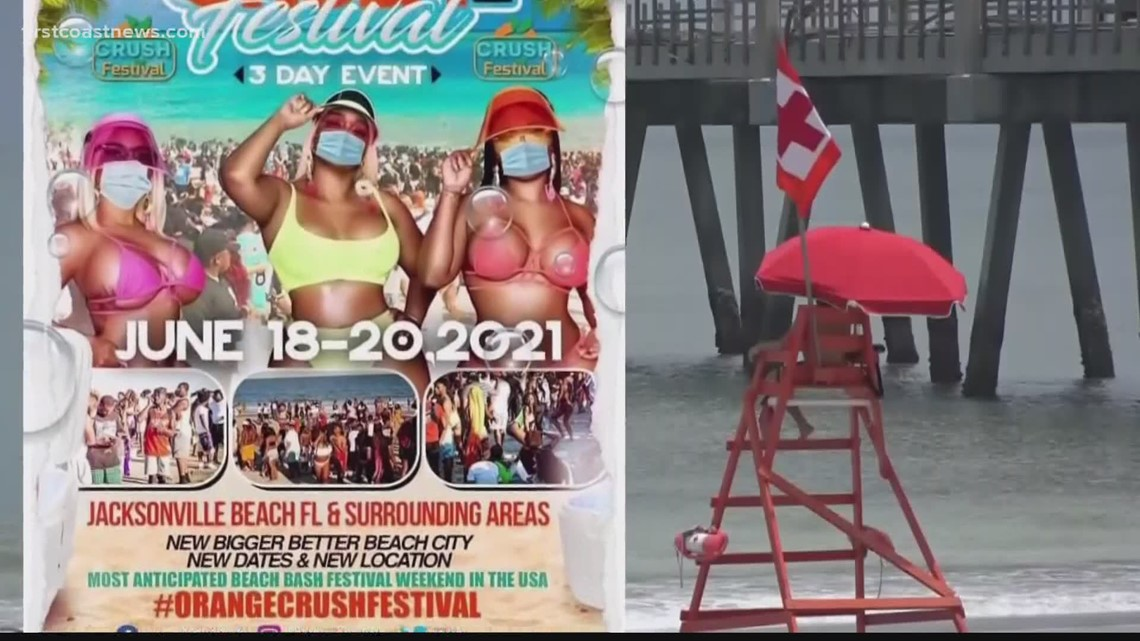 Northside Coalition arranging legal observers on beaches for Orange Crush Festival